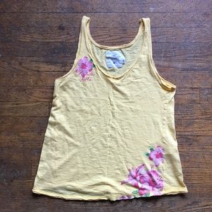 H&M Yellow Tank-top, $11